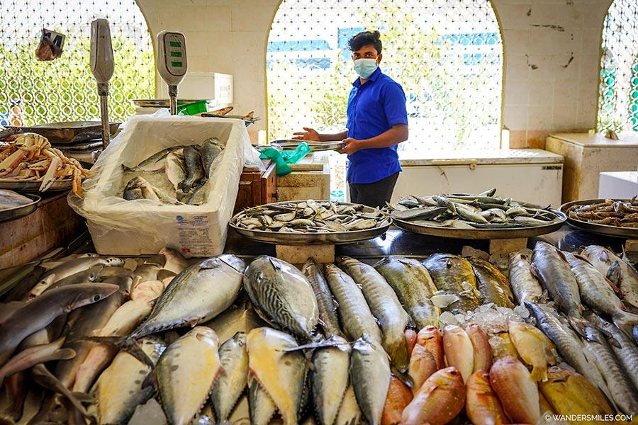 Khor Fakkan Fish Market