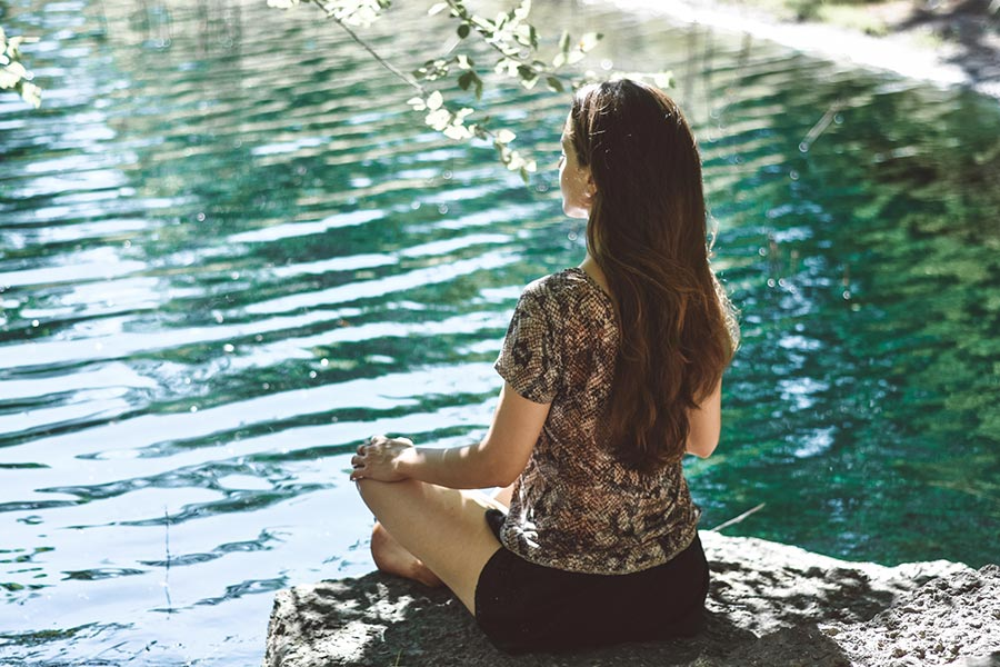 Mindfulness as a female traveller