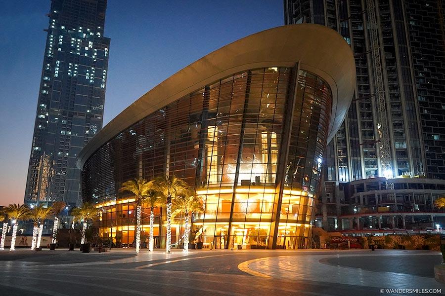 Dubai Opera in Downtown area