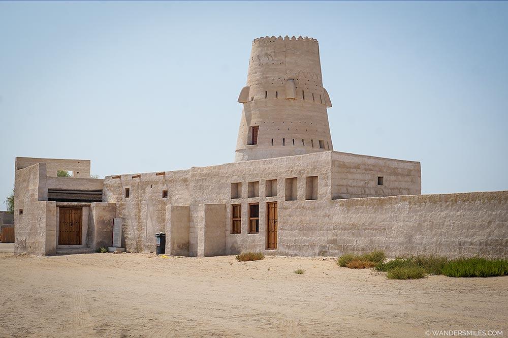 Al Jazirah al Hamra Fort in Ras Al Khaimah, UAE