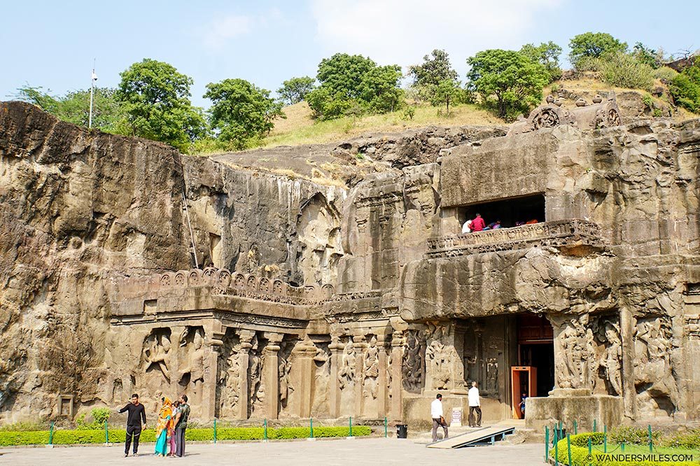 Entrance to Ellora Caves
