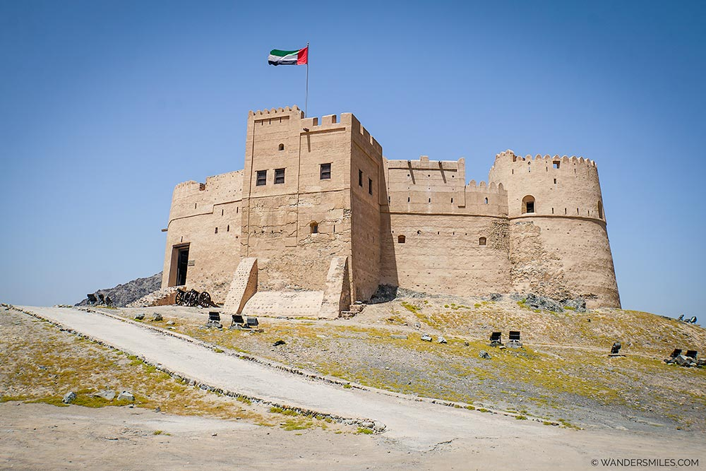 Fujairah Fort in the UAE