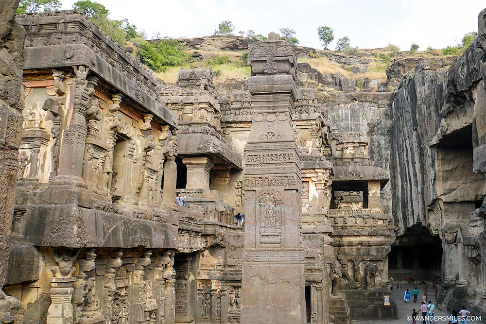 Kailasa Temple at Ellora Caves