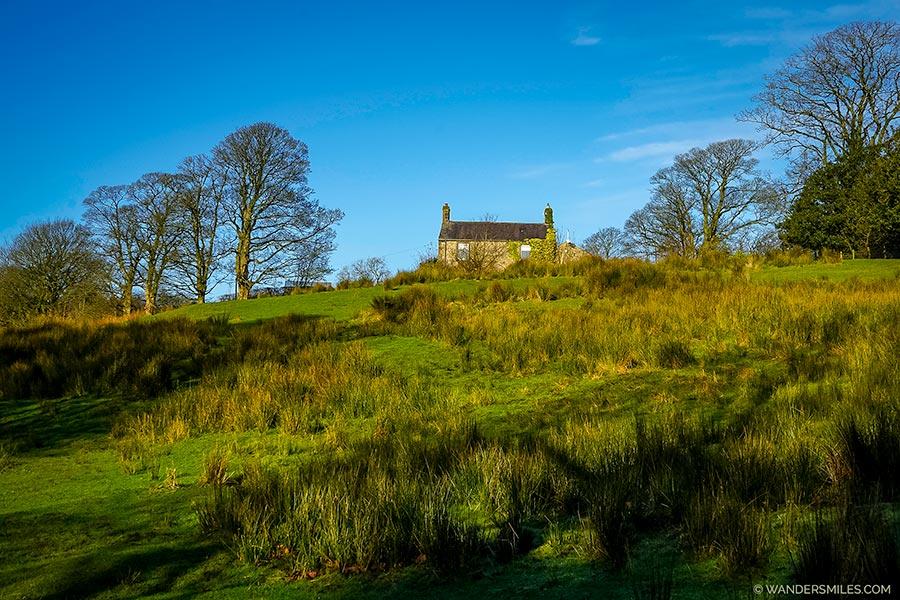Barn conversion on Windy Hill near Saddle Fell, Trough of Bowland