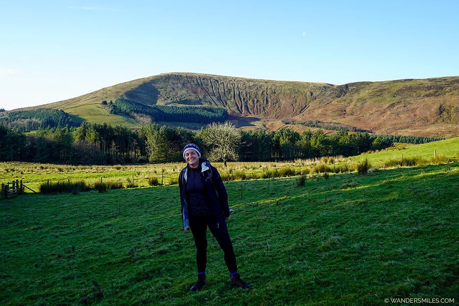Views of Parlick Pike near Saddle End Farm, Trough of Bowland