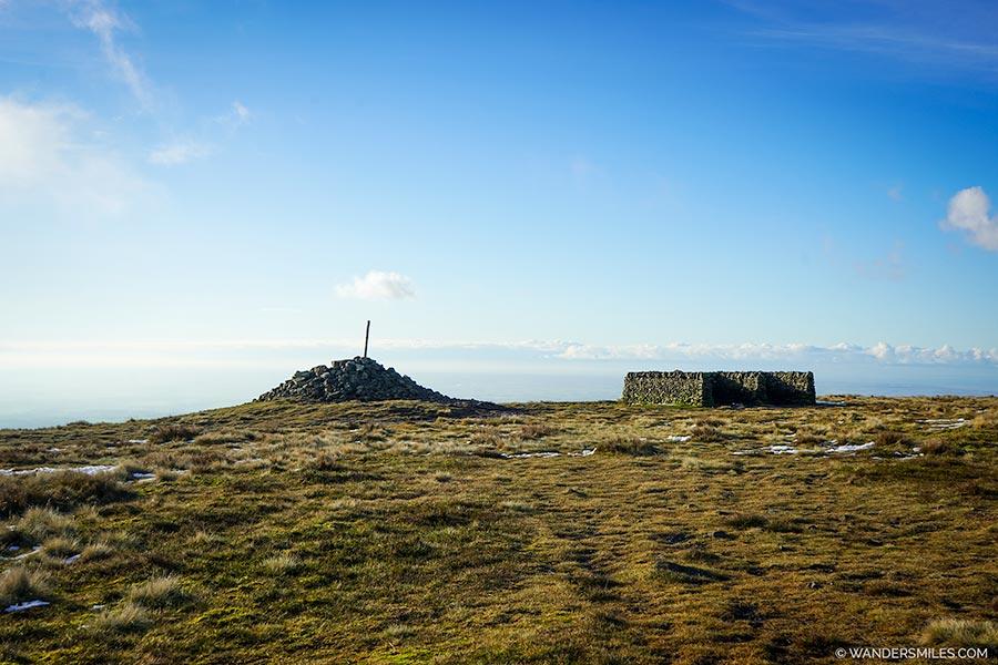 Cairn on Fair Snape Fell Summit