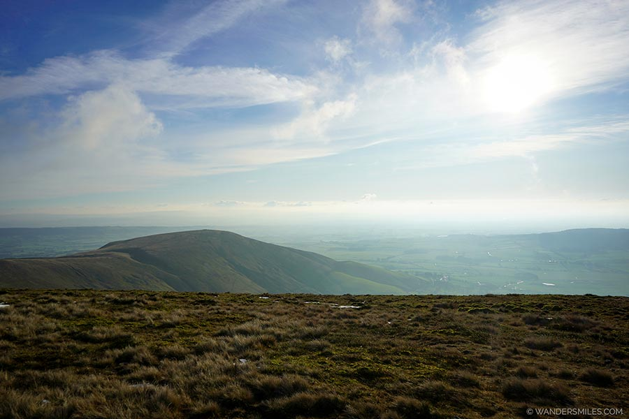 View of Parlick from Fair Snape Fell, Tough of Bowland