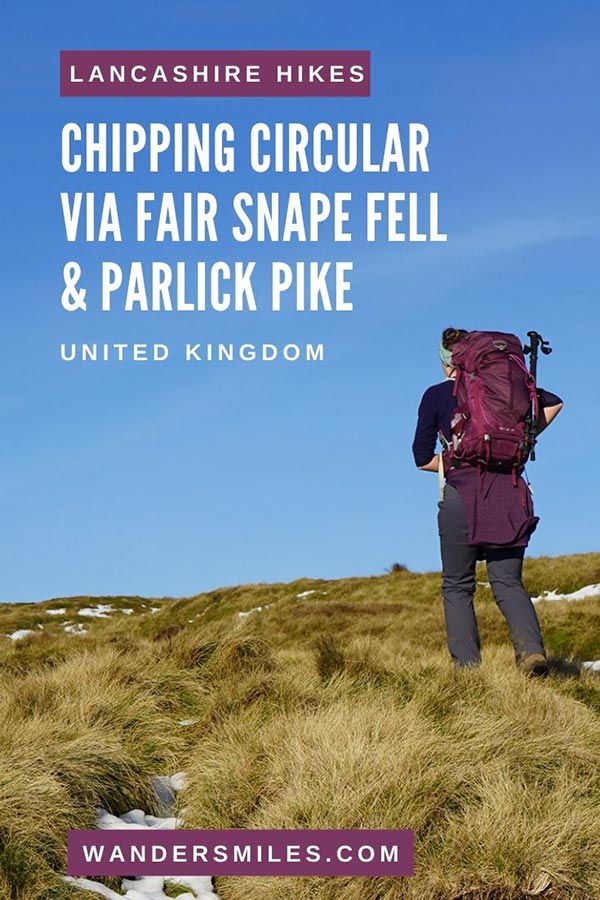 Route guide to Chipping Circular Walk via Fair Snape Fell and Parlick Pike