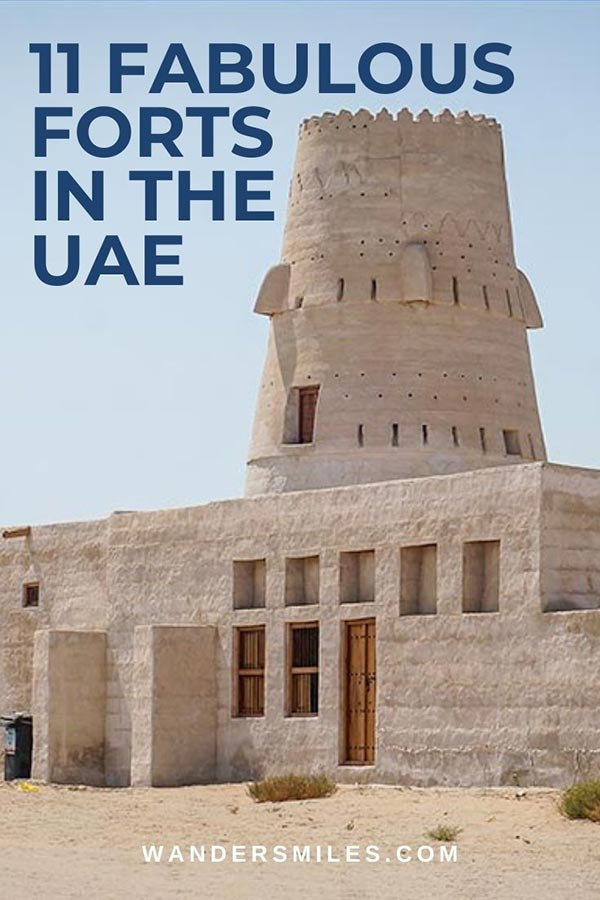 Discover 11 forts in the UAE