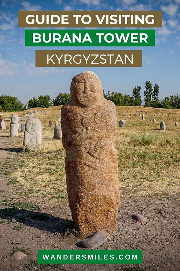 Guide to visiting Burana Tower and ancient Balbals in Kyrgyzstan, Central Asia