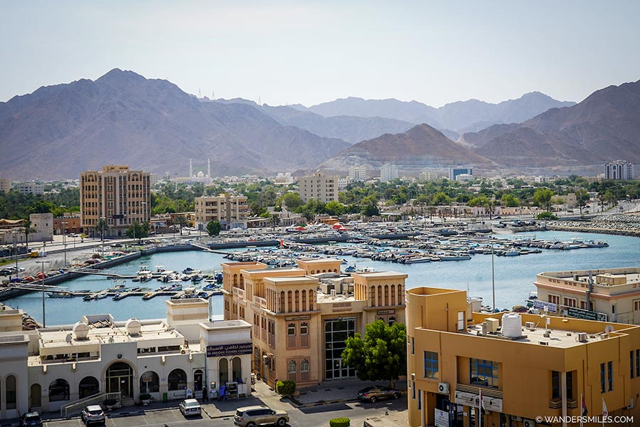 Khor Fakkan Fishing Port