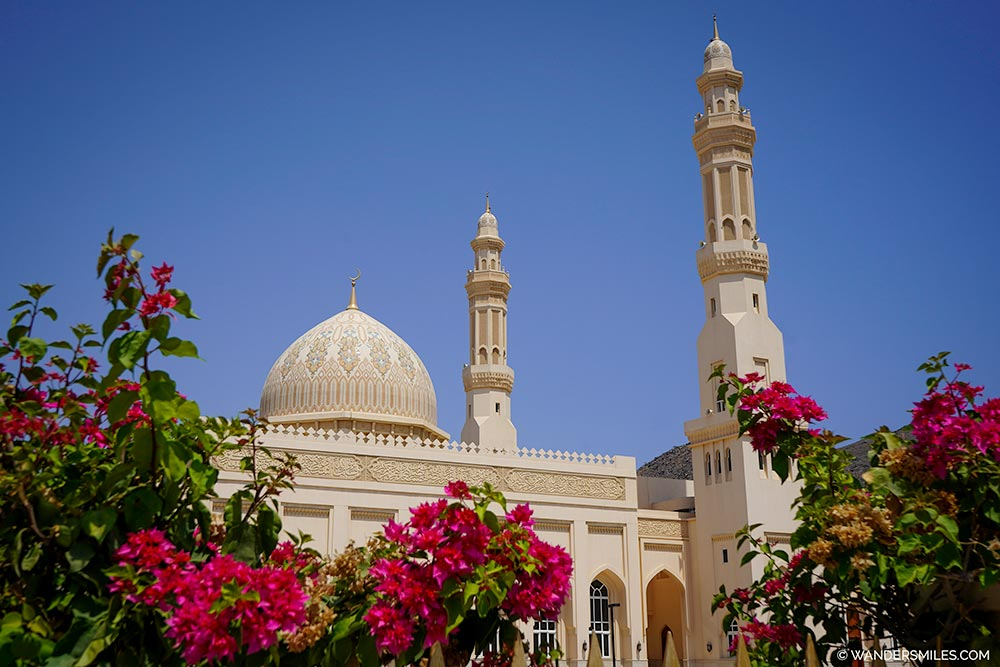 Sultan Qaboos Mosque in Oman's Madha enclave