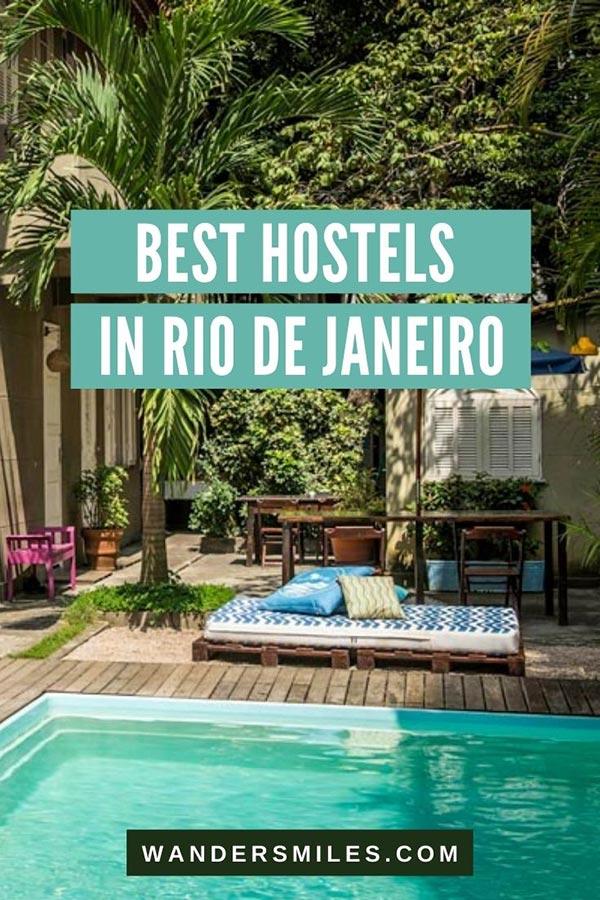 Guide to the best hostels in Rio de Janeiro Brasil