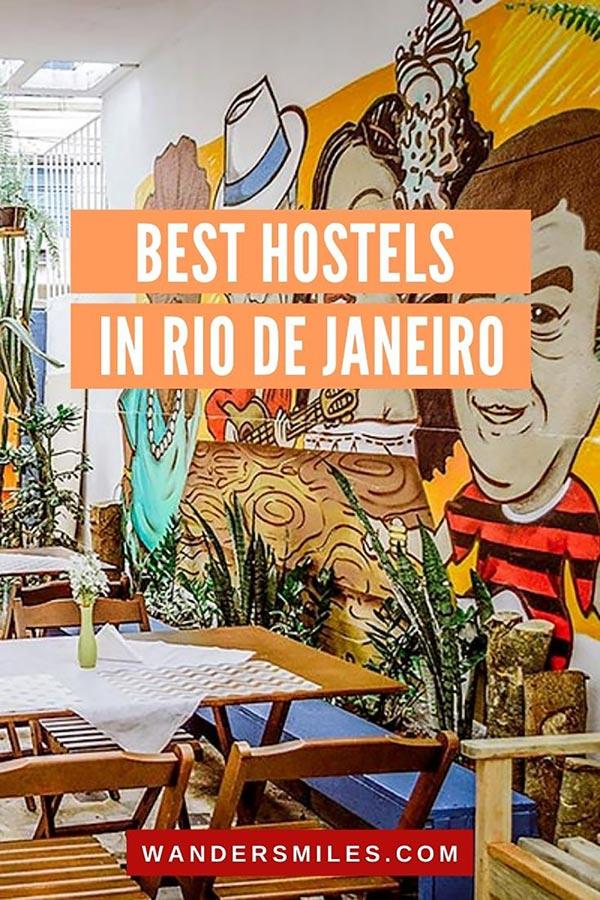 Stay at the best hostels in Rio de Janeiro, Brazil