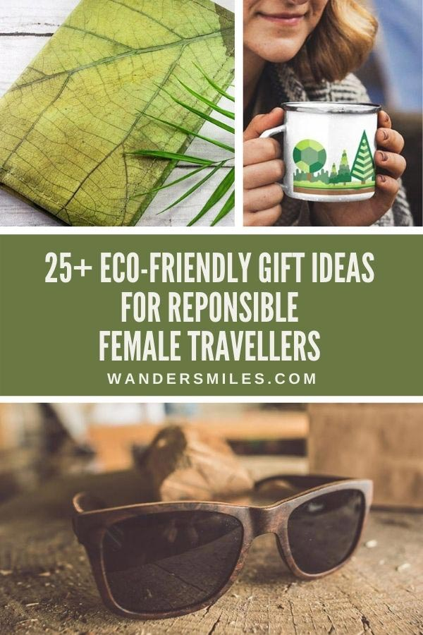 Sustainable vegan eco-friendly travel gifts for her