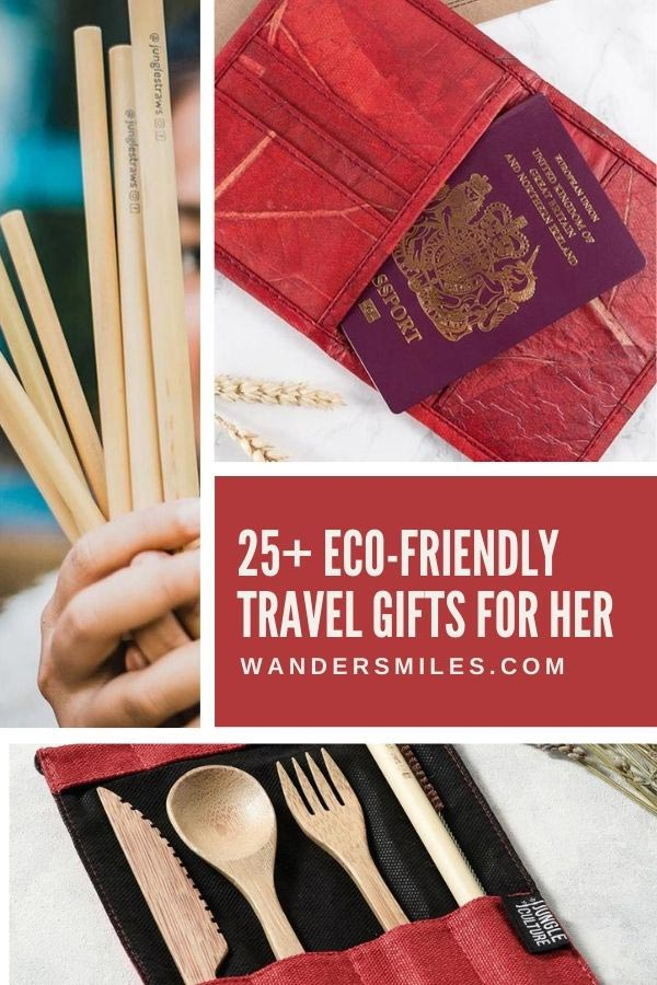 Vegan eco-friendly travel gifts for her
