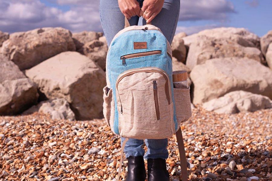 Hemp Vegan Backpack