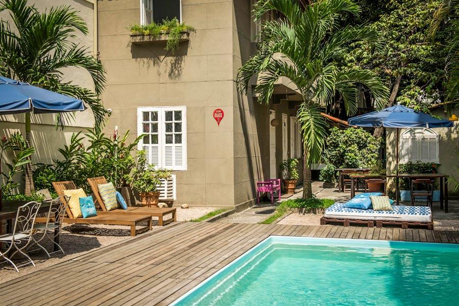 Pool at Ipanema Beach House, Rio de Janeiro