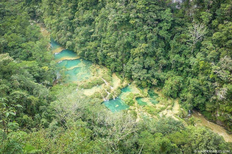 Limestone Bridges at Semuc Champey Guatemala