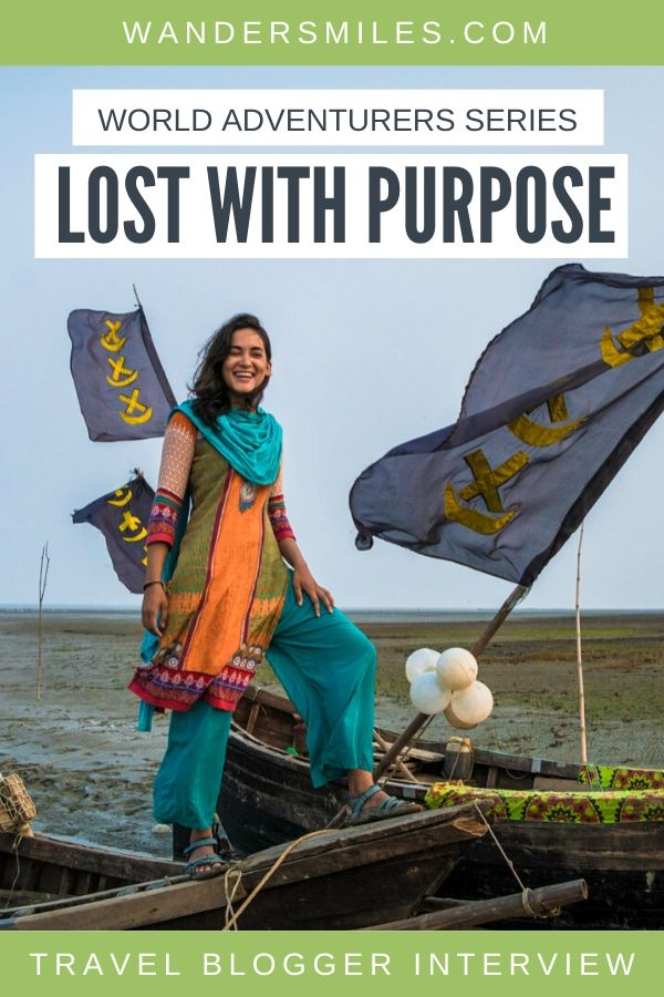 Interview with Alex from Lost With Purpose travel blog for the Wanders Miles World Adventurers Series