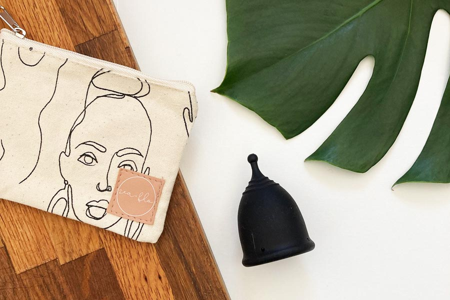 Menstrual cup to reduce waste