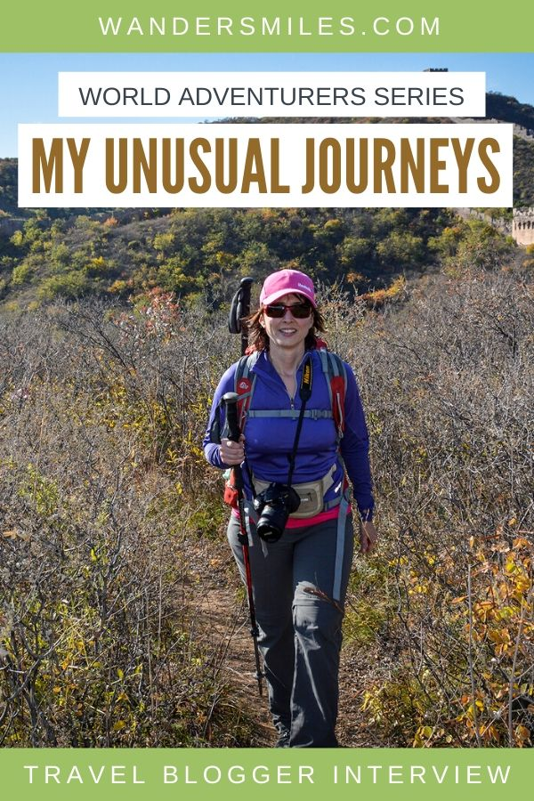 Interview with Konstantina Sakelliou from My Unusual Journeys travel blogger and author