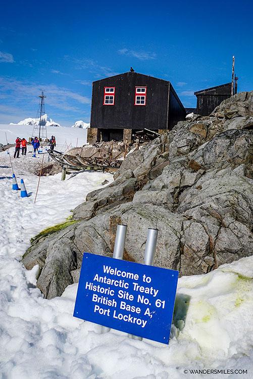 Antarctic Treaty Historic Site No. 61 British Base A, Port Lockroy Antarctica