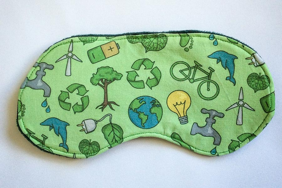 Save The Planet Eco-friendly Eye Mask