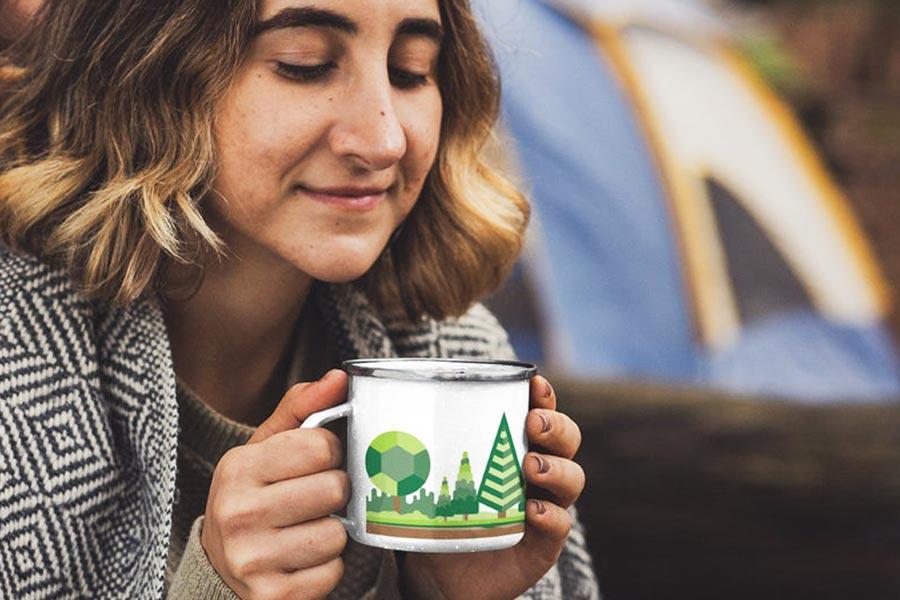 Plant A Tree Camper Mug