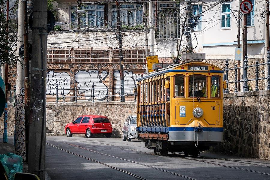 View from Bossa-Hostel in Santa Teresa, Rio de Janeiro