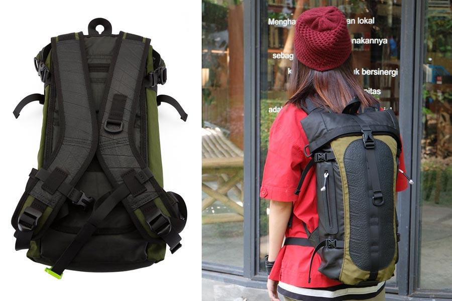 Waterproof Vegan Backpack