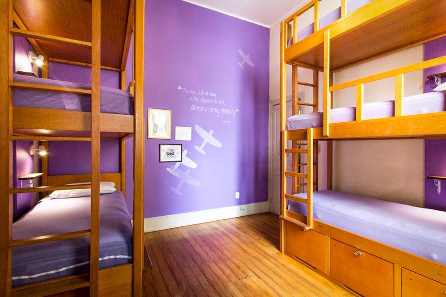 Dormitory at Discovery Hostel in Rio de Janeiro