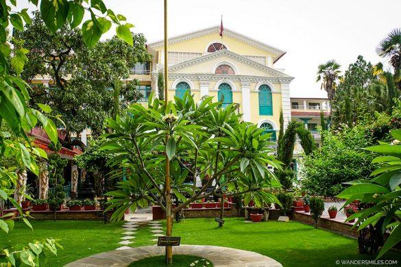 Dream Gardens at Kathmandu Guest House in Thamel, Nepal