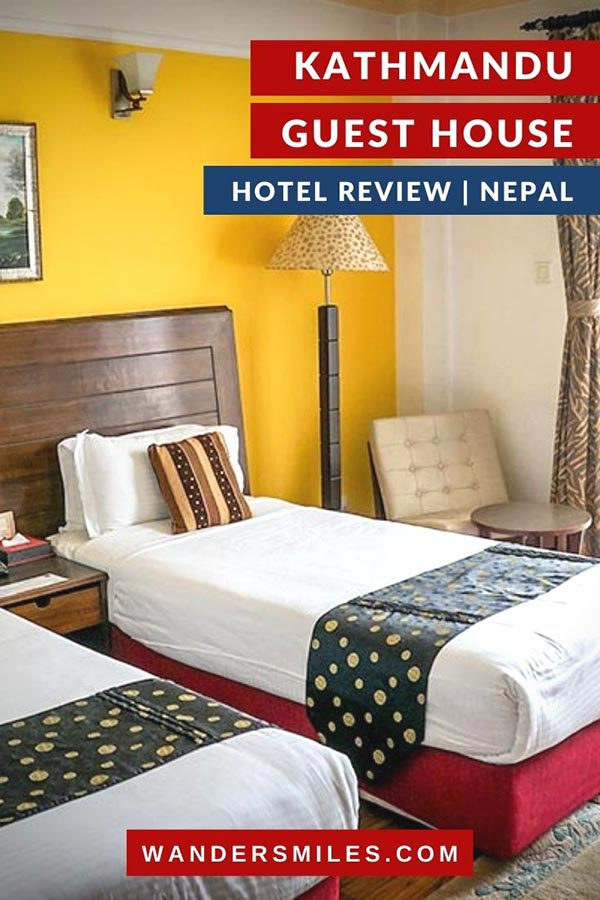 Stay at Kathmandu Guest House | Oldest hotel in Thamel