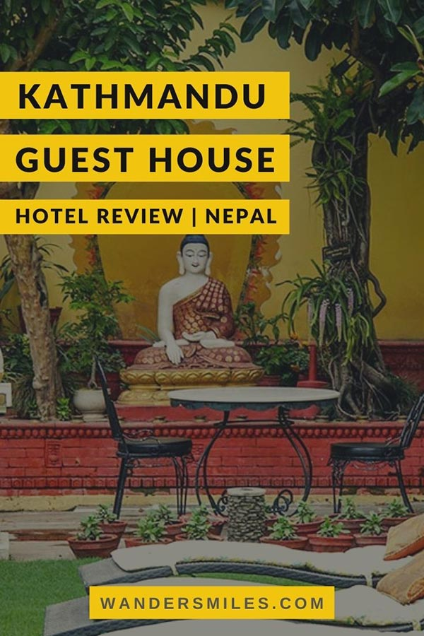 Stay at Kathmandu Guest House | Thamel hotel review