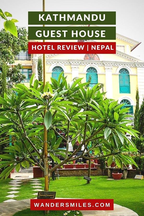 Stay at Kathmandu Guest House | Kathmandu hotel review