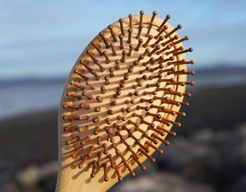 Sustainable Bamboo Hairbrush - Eco-friendly camping gear UK