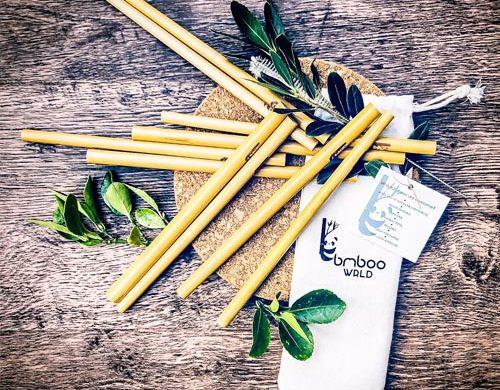 Bamboo Straws - Eco-friendly camping gear