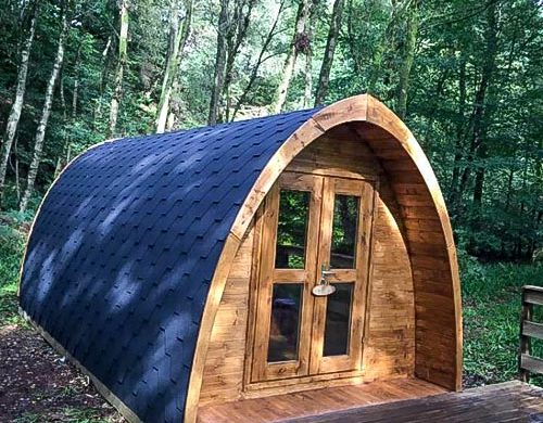 Broomhills Farm River Eco Pods, Carlisle - Eco-friendly camping UK