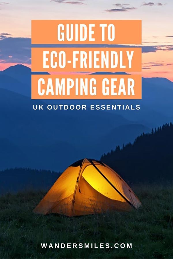 Guide to the best eco-friendly camping gear UK