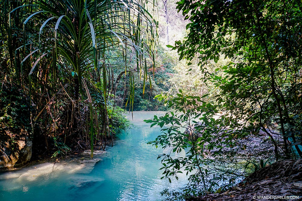 Jungle and Pools at Erawan National Park in Kanchanaburi