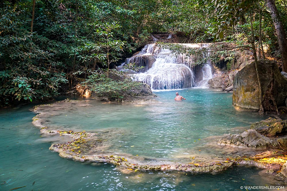 Level 1 - Hlai Khuen Rung - Falls and Pools at Erawan National Park