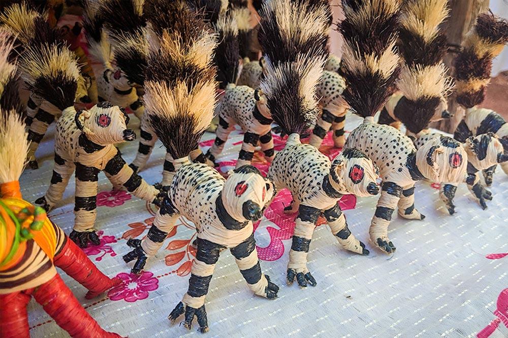 Souvenir Crafts from Lokobe, Madagascar