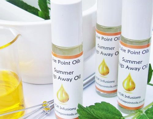 Organic Insect Repellant for a UK camping adventure