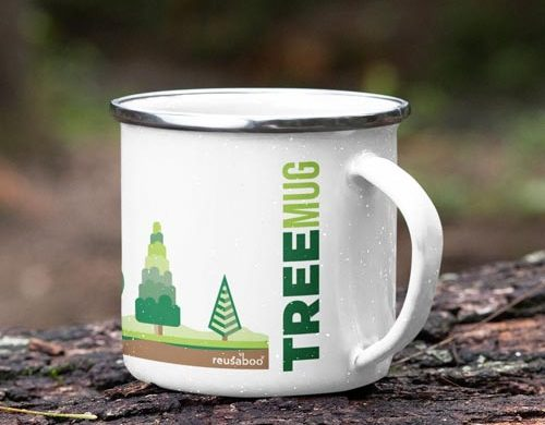 Buy a Tree Mug - perfect eco-friendly camping gear for your UK outdoor getaway