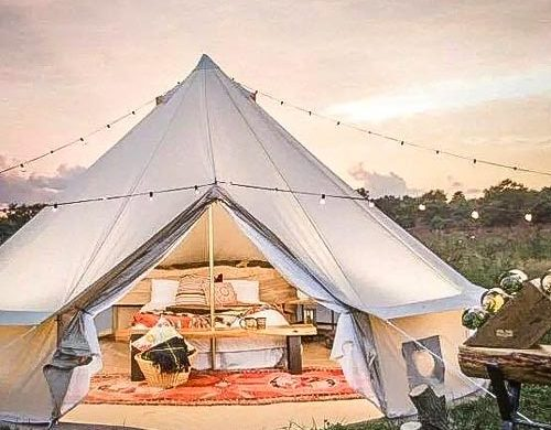 Tipi at Quex Livery Glamping,Birchington - Eco-friendly glamping UK