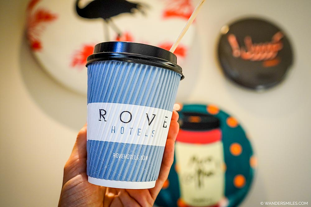 Coffee time at Rove City Centre - Affordable cool hotel in Dubai
