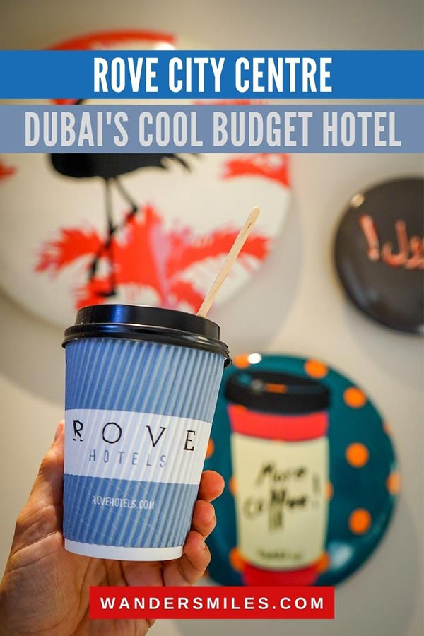 Review of Rove City Centre – Dubai's affordable and contemporary hotel