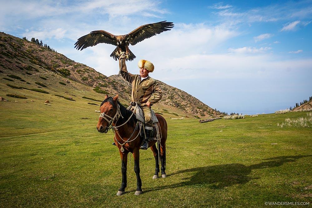 Eagle Hunter in Kyrgyzstan