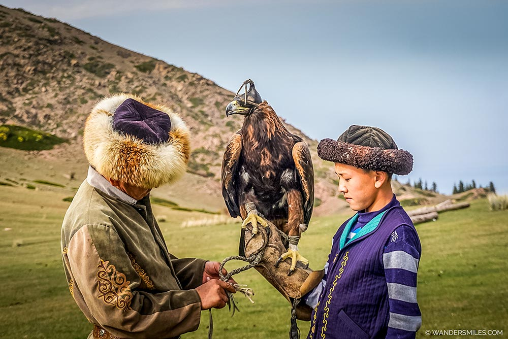 Generations of family training Golden Eagles in Kyrgyzstan